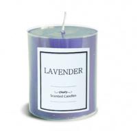 Свеча аромат лаванды малая