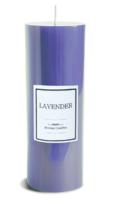 Свеча аромат лаванды большая