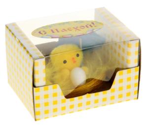 Купить Сувенир  цыпа с яйцом в банте под зонтиком