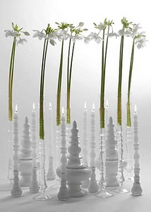 Купить ваза / подсвечник SOLI, 55 см, У