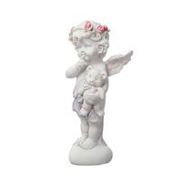 Сувенир Ангел с подарком, белый