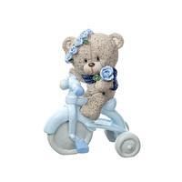 Сувенир Медвежонок на велосипеде Мальчик/девочка