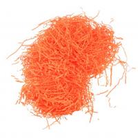 Бумажный наполнитель для подарочных коробок 50гр, оранжевый