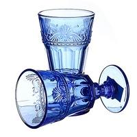 Набор бокалов Факел, синий (2шт)