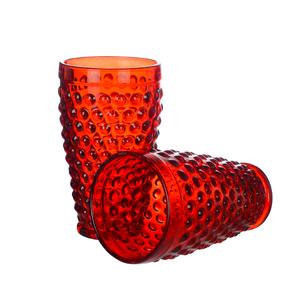 Купить Стакан для воды нежный Красный горошек