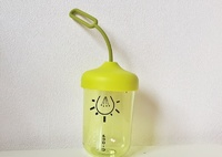 Бутылка для воды Лампочка Green (Зеленый/черный)