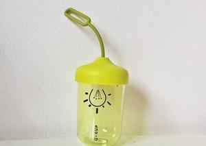 Купить Бутылка для воды Лампочка Green (Зеленый/черный)