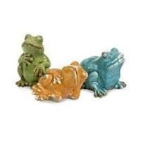 Фигурки лягушек Bever, набор из 3-х шт.