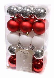 Купить Набор шаров 30 шт, с красным