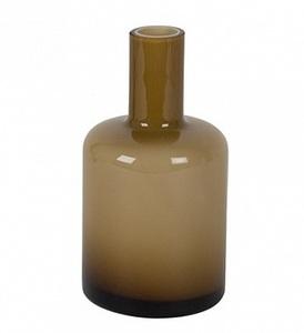 Купить ваза ANTIQUE BOTTLE, коричневая14см, уценка