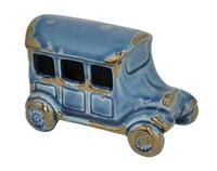 Фигурка автомобиля Vintage Car, синий, керамика, 17х11х12 см, У