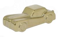 Фигура автомобиля Serge, золотой, керамика, 30х12х10 см