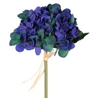 Гортензия, синий, полимерный материал, 30 см