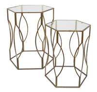 Набор из 2-х декоративных столиков Veleda