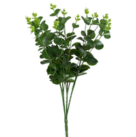 Эвкалипт, темно-зеленый, полимерный материал, 51 см