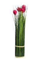 Букет розовых тюльпанов 45см