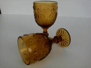 Купить Бокал для вина яркий желтый Королевский