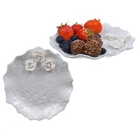 Бомбоньерка для канапе из фруктов Белая глазурь