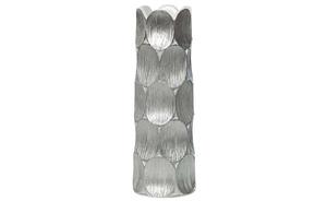 Купить Кашпо серебряное, 14*14*40